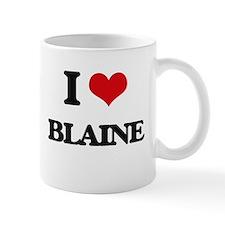 I Love Blaine Mugs