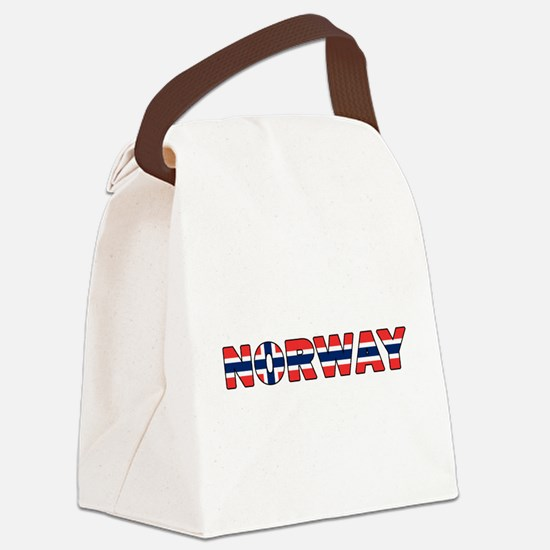 Norway 001 Canvas Lunch Bag