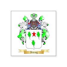 "Irving 2 Square Sticker 3"" x 3"""