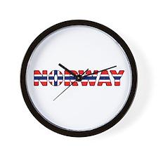 Norway 001 Wall Clock