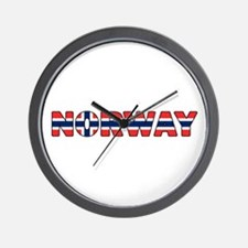 Norway 001 Wall Clock