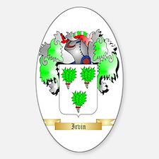 Irvin Sticker (Oval)