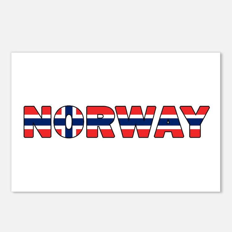 Norway 001 Postcards (Package of 8)