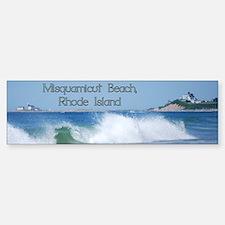 Breaking Ocean Wave Bumper Bumper Bumper Sticker