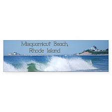 Breaking Ocean Wave Bumper Bumper Sticker