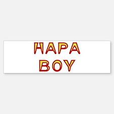 Hapa Boy Bumper Bumper Bumper Sticker