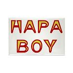 Hapa Boy Rectangle Magnet (10 pack)