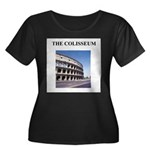 colisseum rome italy gifts Women's Plus Size Scoop