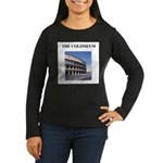 colisseum rome italy gifts Women's Long Sleeve Dar