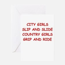 country girls Greeting Card
