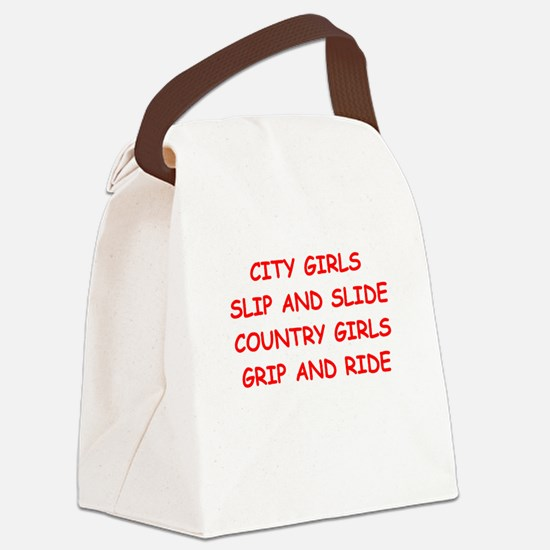 country girls Canvas Lunch Bag