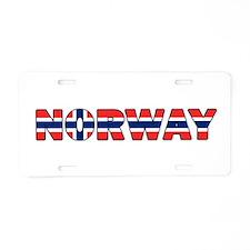 Norway 001 Aluminum License Plate