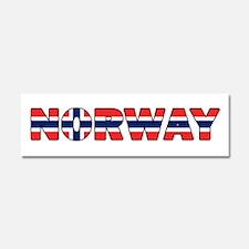 Norway 001 Car Magnet 10 x 3