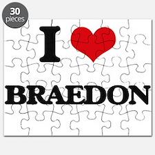 I Love Braedon Puzzle