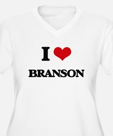I Love Branson Plus Size T-Shirt