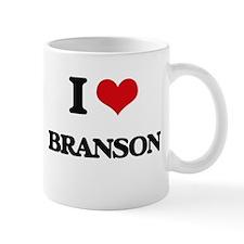 I Love Branson Mugs