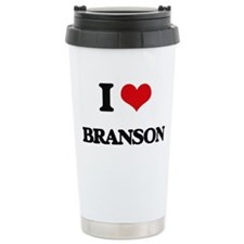 I Love Branson Travel Mug