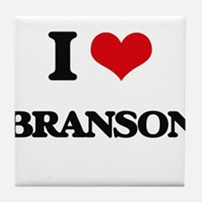 I Love Branson Tile Coaster