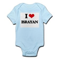 I Love Brayan Body Suit