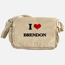 I Love Brendon Messenger Bag