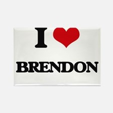 I Love Brendon Magnets
