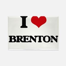 I Love Brenton Magnets