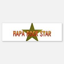 Hapa Rock Star Bumper Bumper Bumper Sticker