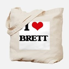 Unique I heart brett Tote Bag