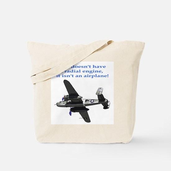 Radial B-25 Tote Bag