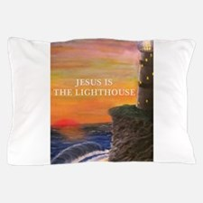 Jesus is the Lighthouse Pillow Case