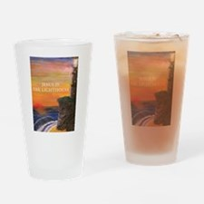 Jesus is the Lighthouse Drinking Glass