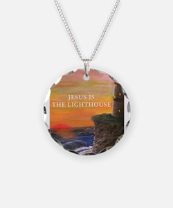 Jesus is the Lighthouse Necklace
