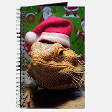Beardie Santa Hat Journal