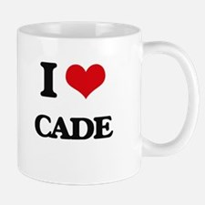 I Love Cade Mugs
