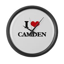 I Love Camden Large Wall Clock