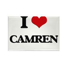 I Love Camren Magnets