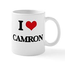 I Love Camron Mugs
