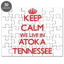 Keep calm we live in Atoka Tennessee Puzzle