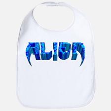 """""""Alien"""" Blue Marble Bib"""