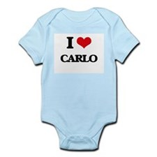 I Love Carlo Body Suit