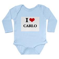 I Love Carlo Body Suit