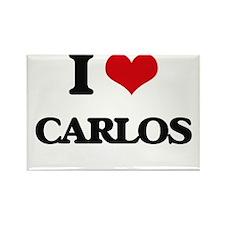 I Love Carlos Magnets