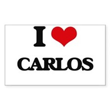 I Love Carlos Decal