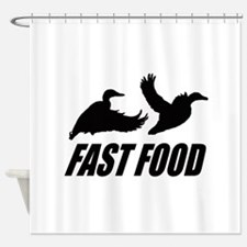 Fast food waterfowl Shower Curtain