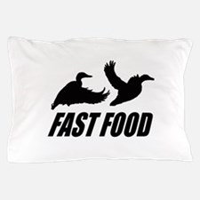 Fast food waterfowl Pillow Case
