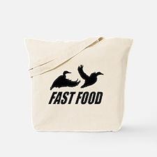 Fast food waterfowl Tote Bag