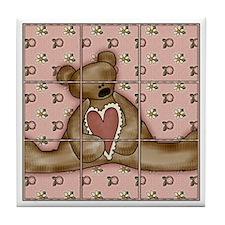 Tic-Tac-Toe 14 Tile Coaster