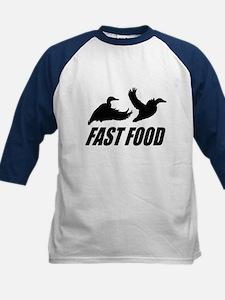 Fast food waterfowl Kids Baseball Jersey
