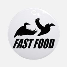 Fast food waterfowl Ornament (Round)