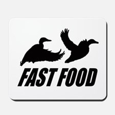 Fast food waterfowl Mousepad